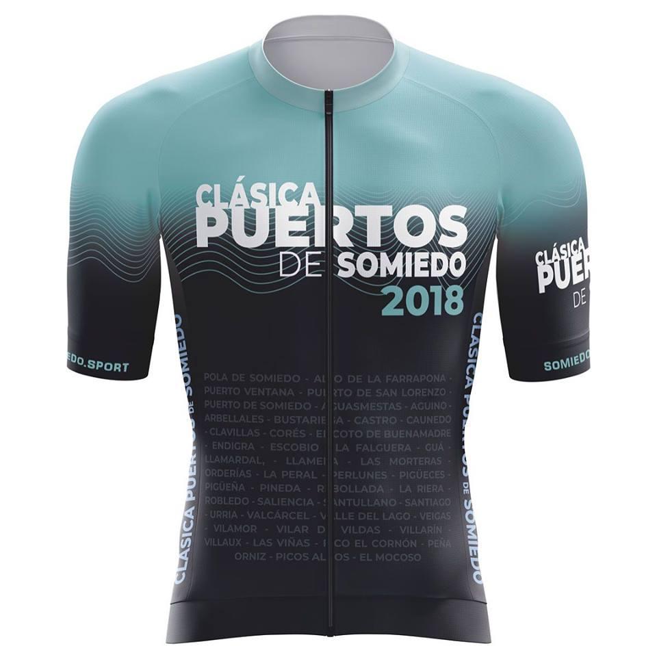 Puertos de Somiedo - maillot JoanSeguidor