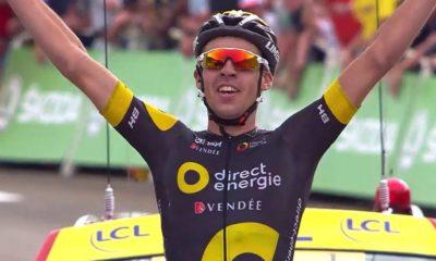 Lilian Calmejane gana etapa del Tour de Francia