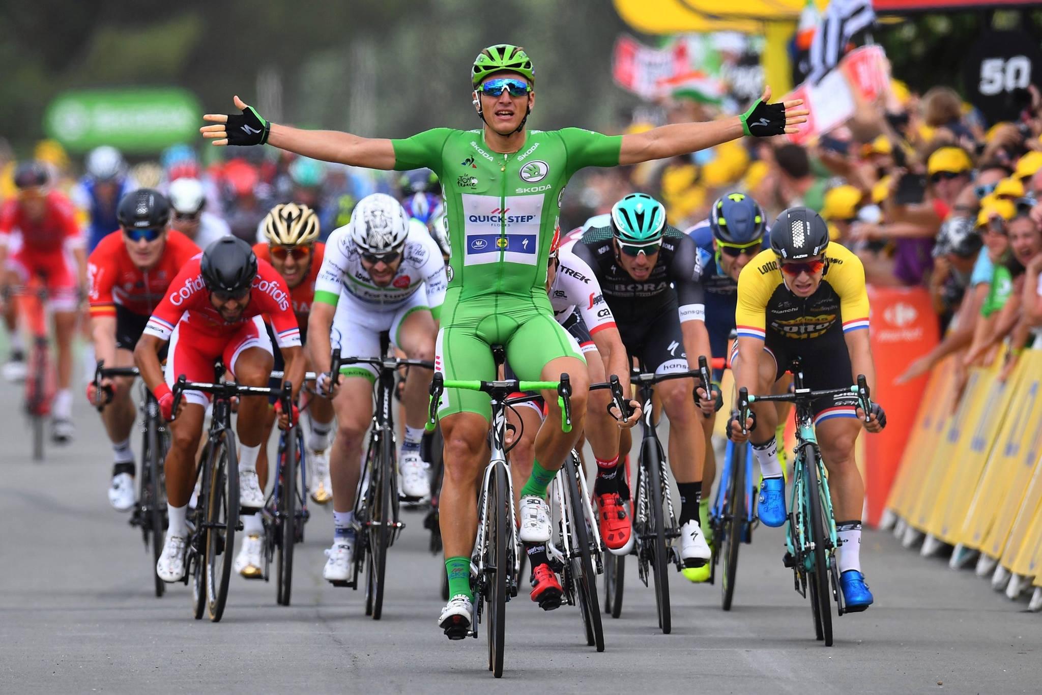 Marcel Kittel gana cinco etapas en el Tour