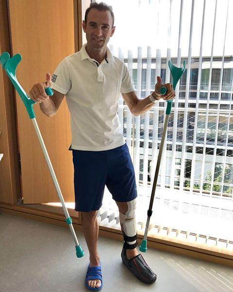 Valverde en el hospital de Düsseldorf