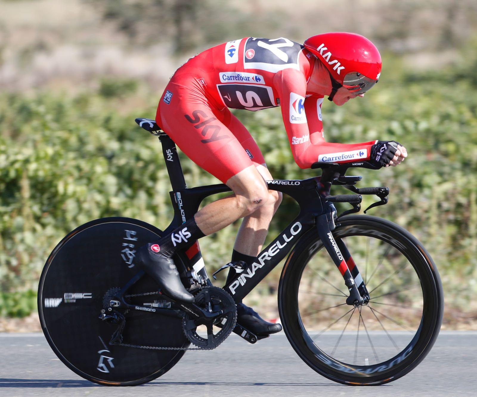 Chris Froome ha ganado la crono de la Vuelta a España