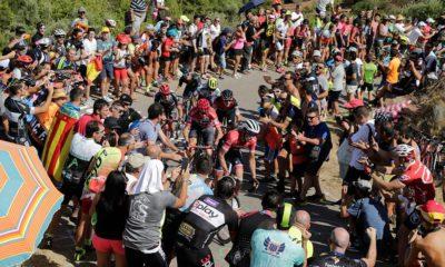 La Vuelta de este año está registrando mucho público en las cunetas