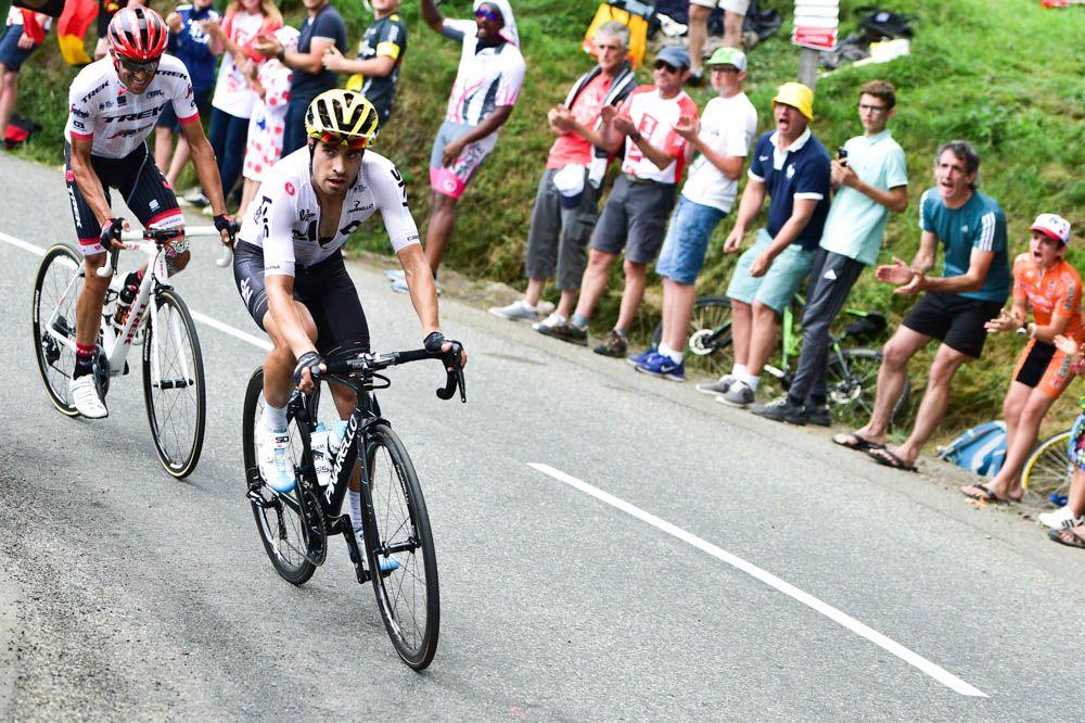 Alberto Contador y Mikel landa tour de francia