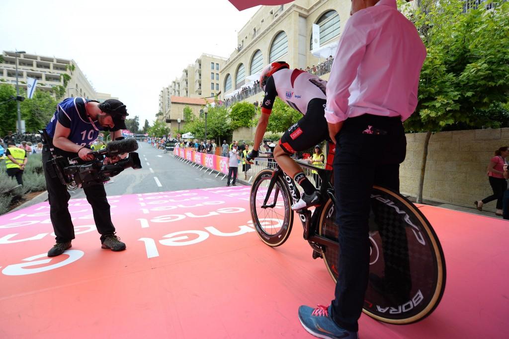 Ciclismo en el Giro 2018