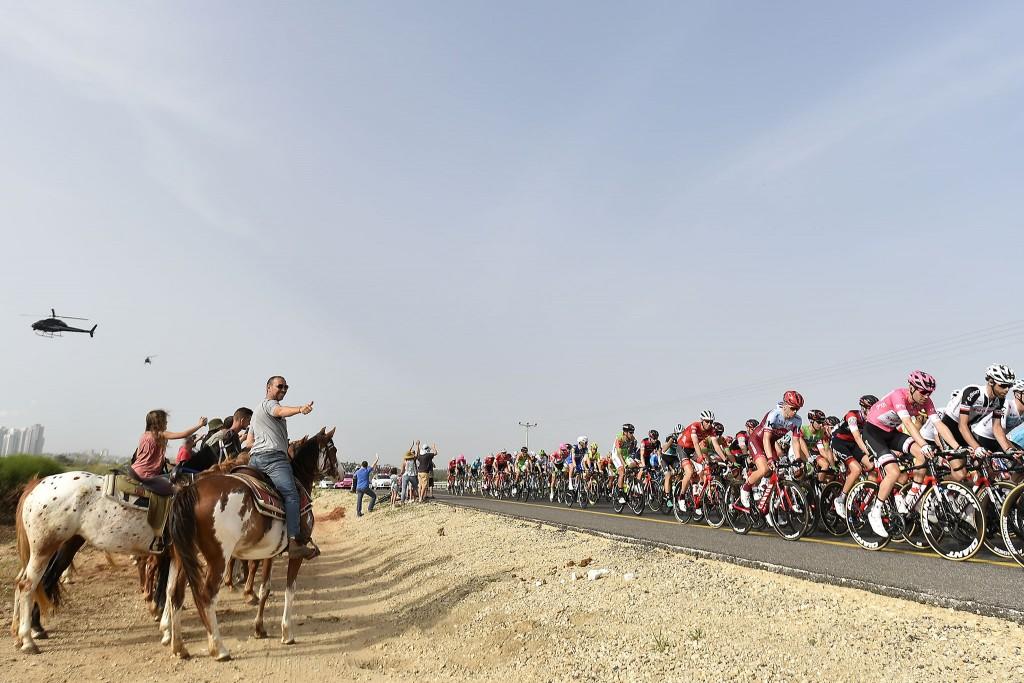 Giro italia 2018, Vuelta por israel el centro del ciclismo
