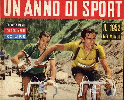 En la foto de Bartali, Coppi y el bidón resulta que tiene truco