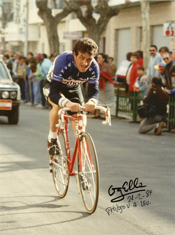 Tour de Francia - Angel Arroyo JoanSeguidor