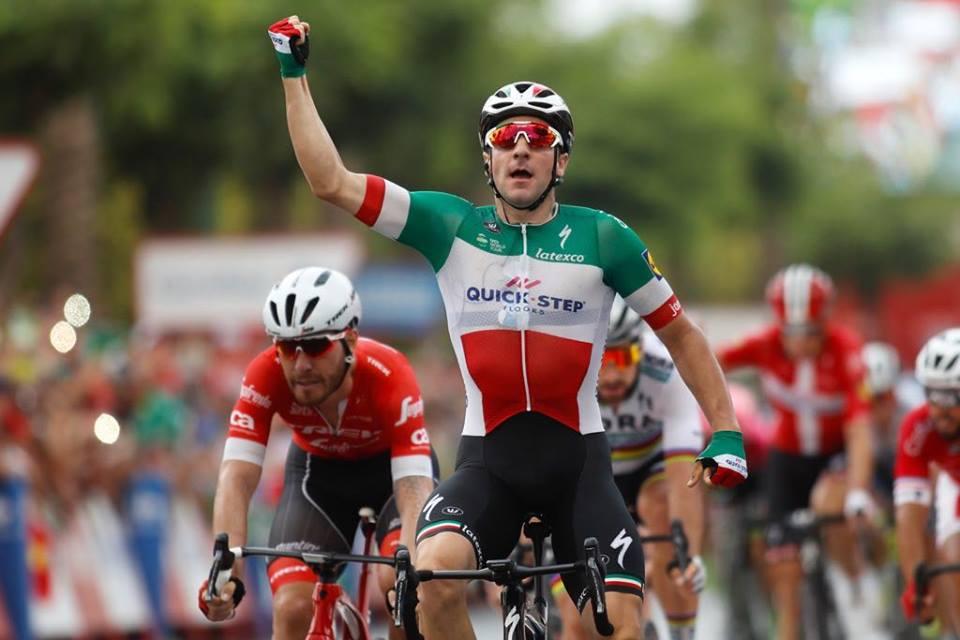 La Vuelta - Elia Viviani JoanSeguidor