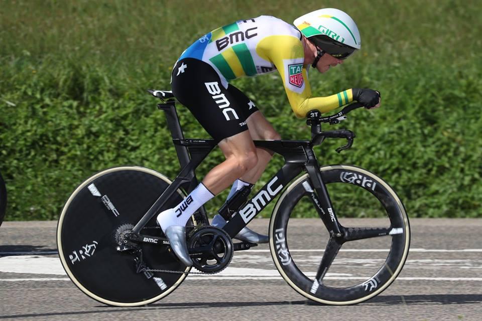 La Vuelta Rohan Dennis JoanSeguidor