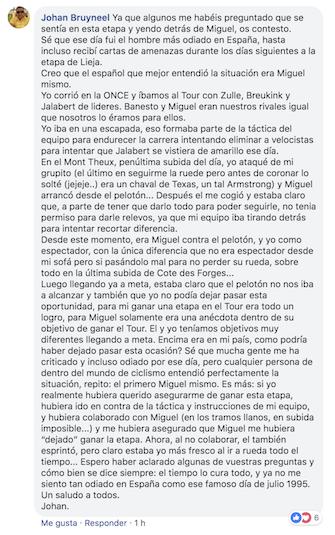 Bruyneel sobre Indurain JoanSeguidor