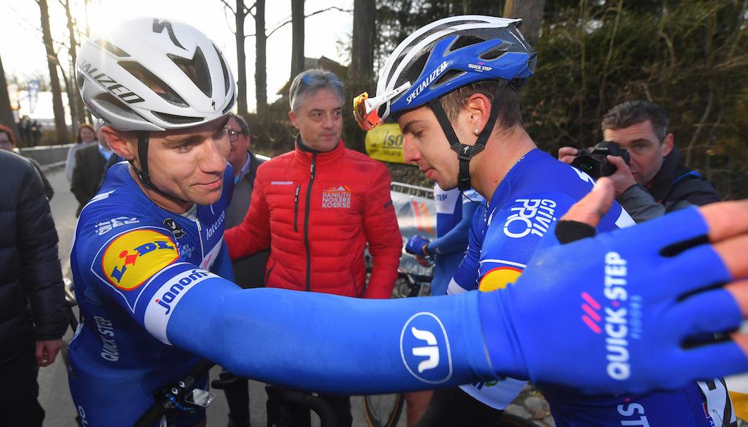 Controles ciclistas Pieter Serry JoanSeguidor