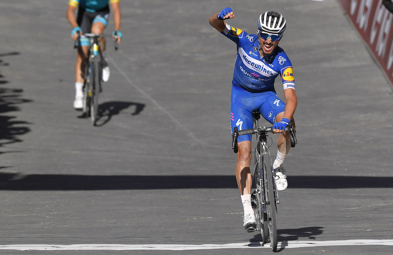 Julian Alaphilippe Strade Bianche JoanSeguidor