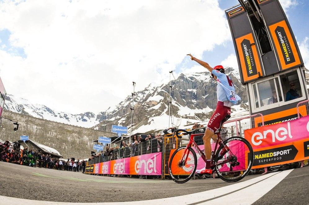 Giro de Italia Montaña JoanSeguidor