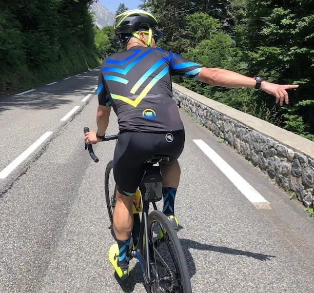 Endura maillot trasero JoanSeguidor