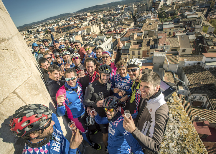Maridaje ciclismo vino en Penedes JoanSeguidor
