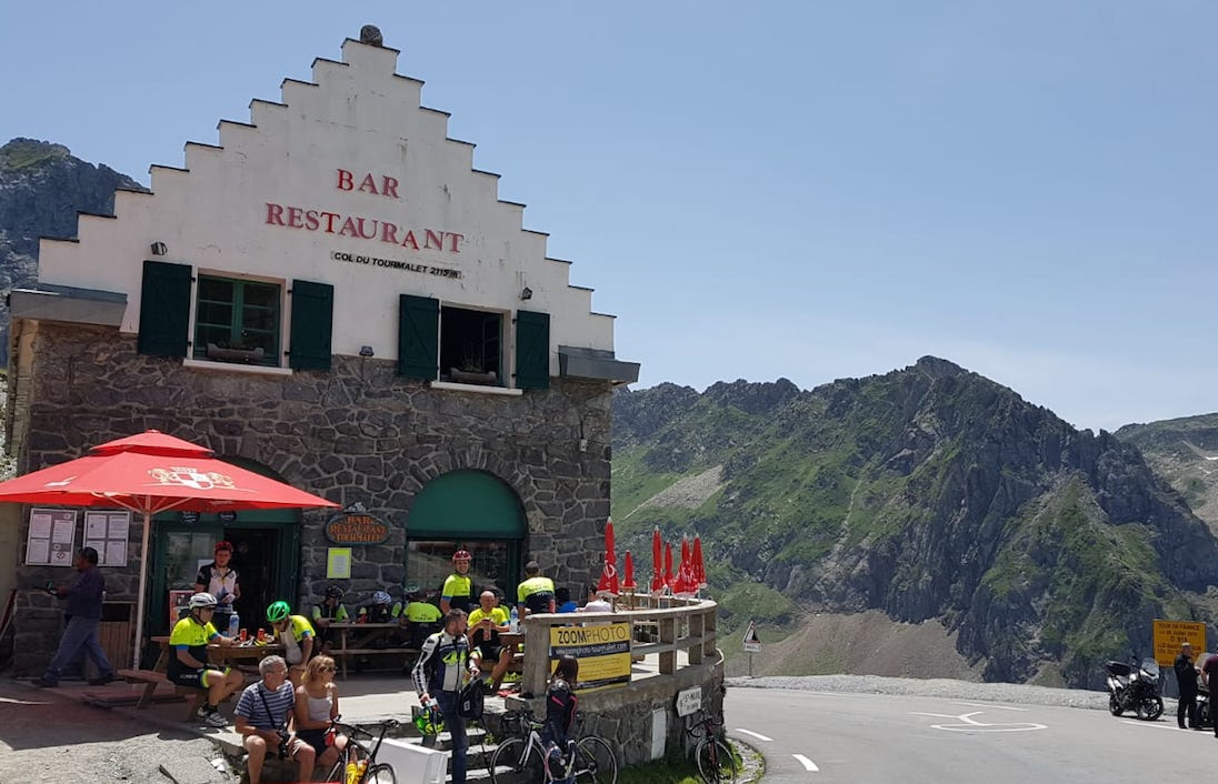 Montaña ciclista Tourmalet JoanSeguidor