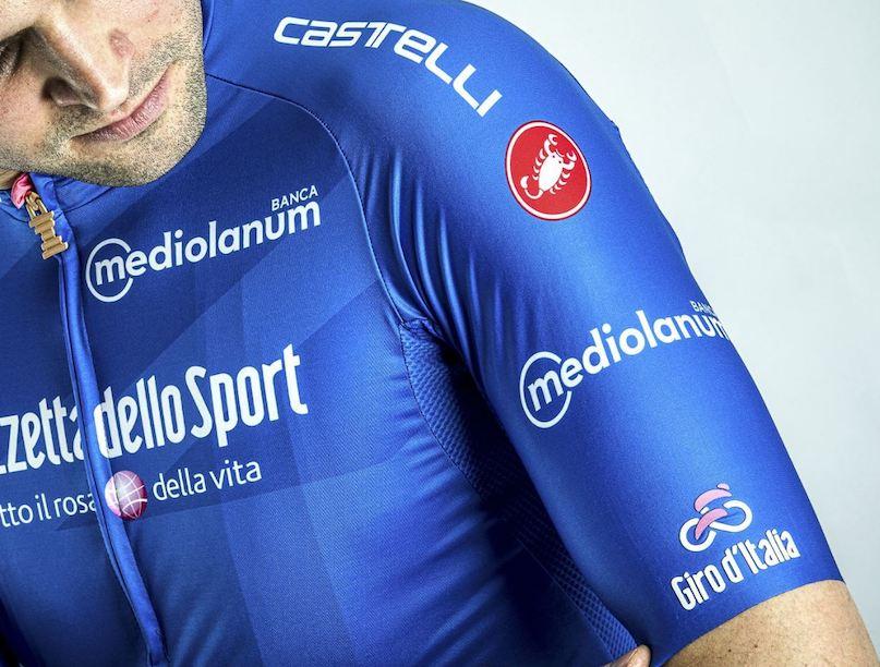 Castelli Giro de Italia maglia azzurra JoanSeguidor