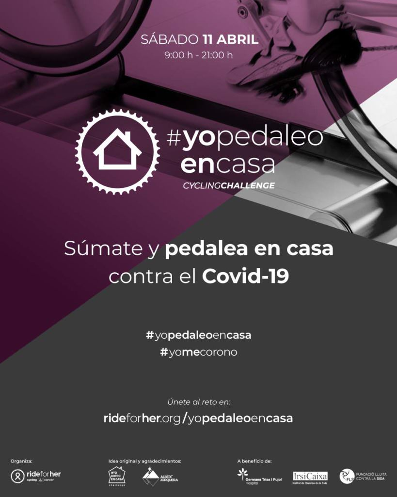 #YoPedaleoEnCasa JoanSeguidor